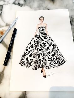 31 Ideas Fashion Sketches Dresses Design For 2019 Dress Design Sketches, Fashion Design Drawings, Fashion Sketches, Wedding Dress Sketches, Fashion Drawing Dresses, Fashion Illustration Dresses, Drawing Fashion, Fashion Illustrations, Design Illustrations