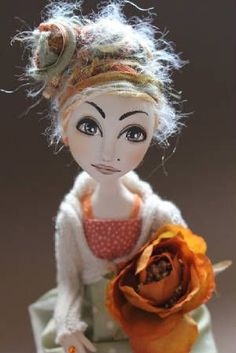 OOAK Art Doll By Abi Monroe. She is one of my favorite doll artists.