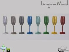 The Sims 4 | BuffSumm's Livingroom Munich Glas 1 wine glasses kitchen dinging room dishes deco clutter buy mode new objects