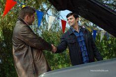 Supernatural - Publicity still of Jensen Ackles & Matt Cohen