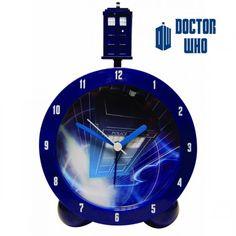 Réveil Tardis Dr Who Sonore : Kas Design, Distributeur de Produits Doctor Who