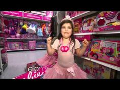 Sophia Grace & Rosie go shopping... compliments of Ellen & Nicki Minaj! Love these adorable little girls! ♥