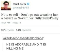 SillyChillyPhilly. Phil is too adorable.