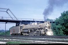 RailPictures.Net Photo: CBQ 5632 Chicago Burlington & Quincy Railroad Steam 4-8-4 at Aurora, Illinois by Marty Bernard