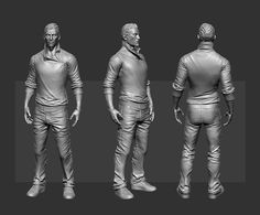 ArtStation - Zombie Hunter, Samuel Compain