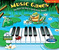 The perfect way for aspiring musicians ages 7 & up to learn music theory! Note names, rhythms, intervals, music terms and more are covered in an entertaining, interactive software environment. For Windows and Macintosh. #music #teachmusic #homeschool