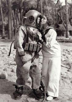 Vintage Navy Diver