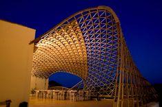 Copertura della terrazza della Masseria Ospitale Lecce, 2010, by CMMKM architettura e design, www.cmmkm.com