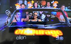 Well The Ellen DeGeneres Show let the cat out of the bag. @mrdrewscott & I are in the new Entourage Movie lol