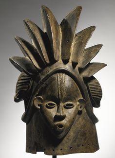 Bassa Janus Bundu Mask, Liberia   Lot   Sotheby's