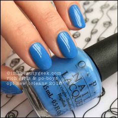 OPI Rich Girls & Po-Boys – OPI New Orleans Collection