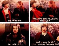 that show jackie kelso eric donna jacket Tv Quotes, Movie Quotes, Qoutes, Random Quotes, Michael Kelso, Thats 70 Show, Comedy, Cultural, I Love To Laugh