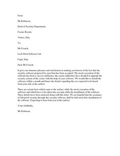 Software Acceptance Letter - To ensure a mistake-free letter of acceptance, use trustworthy writing software with the proofreading tools you need for success.