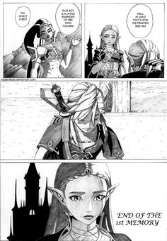 Zelda BOTW Page 4 by MailenRose