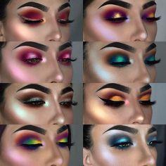 Eye Makeup Tips.Smokey Eye Makeup Tips - For a Catchy and Impressive Look Makeup Hacks, Makeup Goals, Makeup Inspo, Makeup Art, Makeup Inspiration, Makeup Tips, Beauty Makeup, Hair Makeup, Makeup Ideas