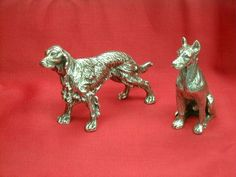 Dogs Setters and Great Dane Dogs in silver 925 Available on order in 14 or 18 carat gold  Dogale Jewellery Venice Italia www.veneziagioielli.com