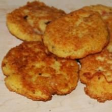 Goat Cheese and Chick Pea Rounds-- by Megan || iledefrancecheese.com