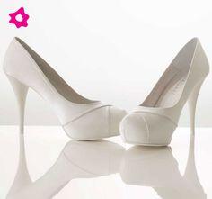 scarpe sposa chiuse con plateau