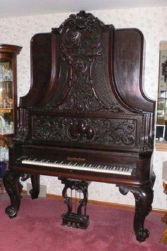 1893 Vertical Grand Piano