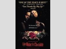 Like Water for Chocolate; a favourite foodie film