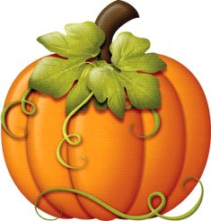 this is clipart but is a good pic for a fancy pumpkin made in clay
