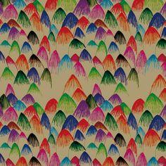 Color My Mountains Pattern by @Marina Zlochin Zlochin Molares