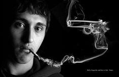 Creative Ads: Anti-Smoking Campaigns pics) - My Modern Metropolis Smoking Kills, Giving Up Smoking, Smoking Facts, Anti Tabaco, Smoking Campaigns, Ad Campaigns, Portal Do Professor, Newport Cigarettes, Classic Trucks