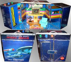Star Trek (TOS) Enterprise Playset - Mego