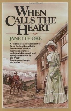 When Calls the Heart - Janette Oke. Is a series on the hallmark channel, and can't wait to see the next episode or read the whole series! I Love Books, Great Books, Books To Read, My Books, Janette Oke Books, Christian Fiction Books, Christian Movies, Favorite Book Quotes, Comic