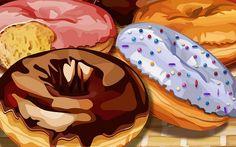 PSD_Food_illustrations_3196_doughnuts_Donut_ illustration.jpg (700×438)