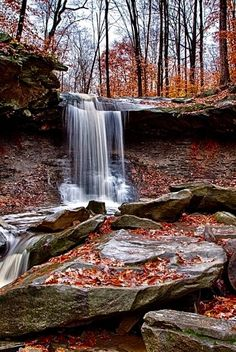 Blue Hen Falls, Cuyahoga National Park