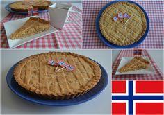 Norway Fyrstekake - Almond cake with cardamon Almond Cakes, Baking Recipes, Fat, Desserts, Life, Cooking Recipes, Tailgate Desserts, Deserts, Postres