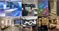 Today, we are presenting you an excellent collection ofAstonishing LED Lights Solutions That Will Enlighten Your Interior.