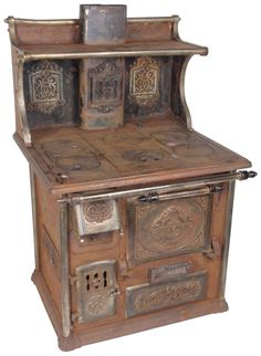 Rusty Iron Ranch Antique Stoves: Quick Meal - Antique Salesman's Sample Antique Stove
