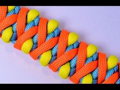 "How to make the ""Solomons Fire"" Paracord Survival Bracelet - BoredParacord - YouTube"