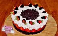 Sommerlich frische Erdbeertorte - Rezept von Kerstins Kuechentraum Food, Videos, Youtube, Bakken, Strawberry Cakes, Strawberries, Essen, Meals, Yemek