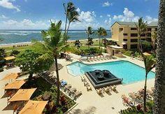 Courtyard by Marriott Kauai at Coconut Beach. Next fall God willing.