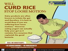 One of the best foods for loose motion is yogurt which has a soothing and cooling effect on your stomach. It is a probiotic that helps to replenish your good gut bacteria that aid in digestion and healthier bowel movements. A light khichdi with moong dal can be a good option to add to your loose motion diet. Healthy Bowel Movement, Good Gut Bacteria, You Loose, Stay Fit, Yogurt, Weight Loss, Diet, Foods, Fitness