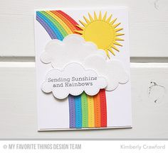For the Love of Paper: rainbow greetings: MFT Stamps May Release now available