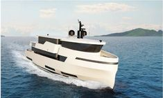 Explore NAUCRATES 88 yacht for sale; through beautiful photos and a full walk-through description of this impressive Ocean King Expedition Yacht. Expedition Yachts, Yacht For Sale, Yacht Design, Exterior Design, Cnc, The Incredibles, Ship, Green, Boating