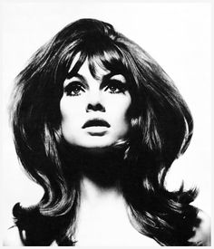 Jean Shrimpton photographed by David Bailey, 1965.
