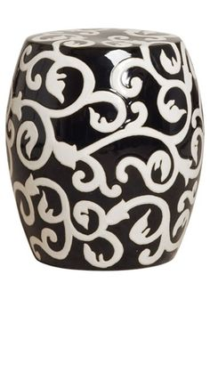 Garden Stool from InStyle Decor Beverly Hills Hollywood Luxury Home Decor