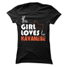 This Girl Loves Her Havanese - #college hoodie #sweater fashion. LIMITED TIME => https://www.sunfrog.com/Pets/This-Girl-Loves-Her-Havanese-ptkrn-Ladies.html?68278