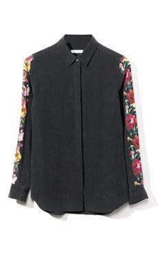 Long Sleeved Earl Blouse by Equipment for Preorder on Moda Operandi