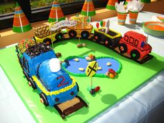 Image detail for -train theme cake birthday cakes for boys Birthday Parties, Birthday Cakes, Birthday Ideas, 2nd Birthday, Fireman Birthday, Train Party, Cakes For Boys, Kid Cakes, Cake Gallery