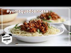 BOLOÑESA VEGANA #yomequedoencasa COCINA CONMIGO *Living Like A Panda* - YouTube