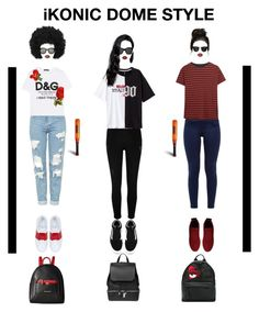"""iKONIC Style"" by eboneeyg ❤ liked on Polyvore featuring Topshop, Dolce&Gabbana, Valentino, River Island, Vans, Ted Baker, R13, COSTUME NATIONAL, Givenchy and Chiara Ferragni"
