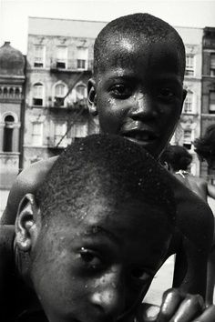Leonard Freed - Harlem, New York, 1956.