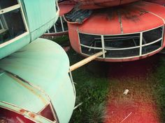 """The """"Sanzhi UFO houses"""" were a major development project for some pretty unusual-looking vacation homes, which was abandoned in 1978 before it could be completed. The site was demolished in 2008, and is now being redeveloped."""