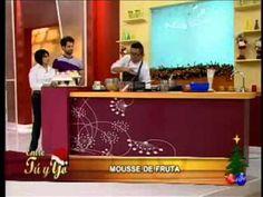 Miguel Roque prepara un delicioso mousse de fruta - YouTube
